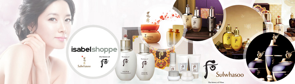 jual sample history of whoo dan sulwhasoo